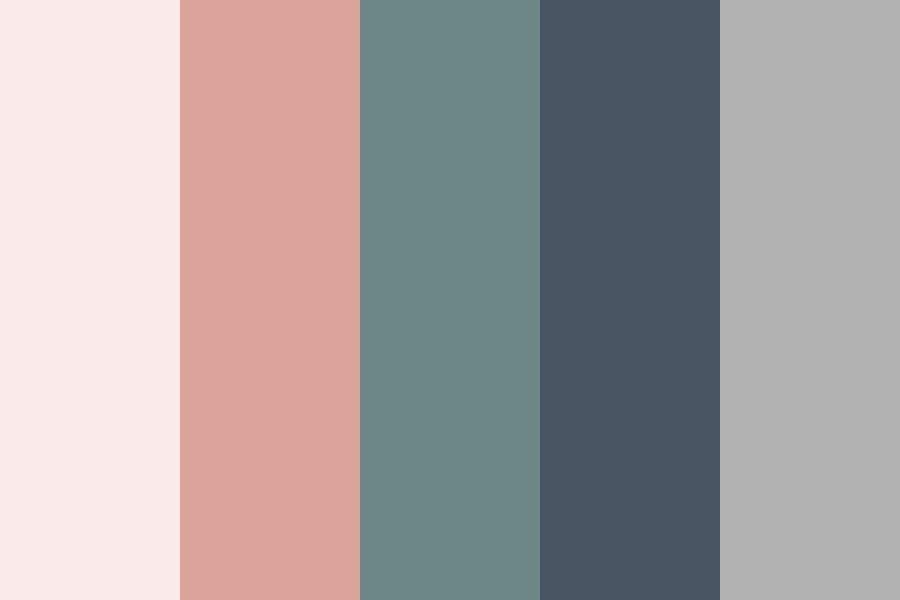 Soft Spring Web Color Palette