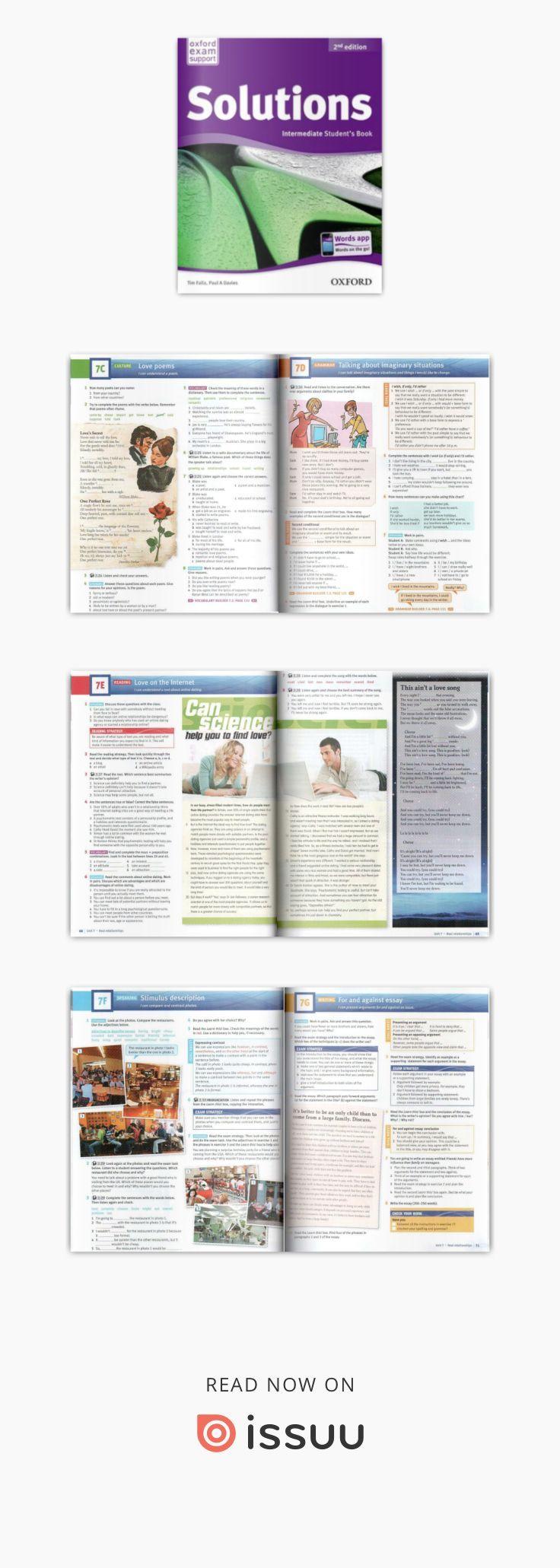 Solutions 2nd ed intermediate book | Английский язык