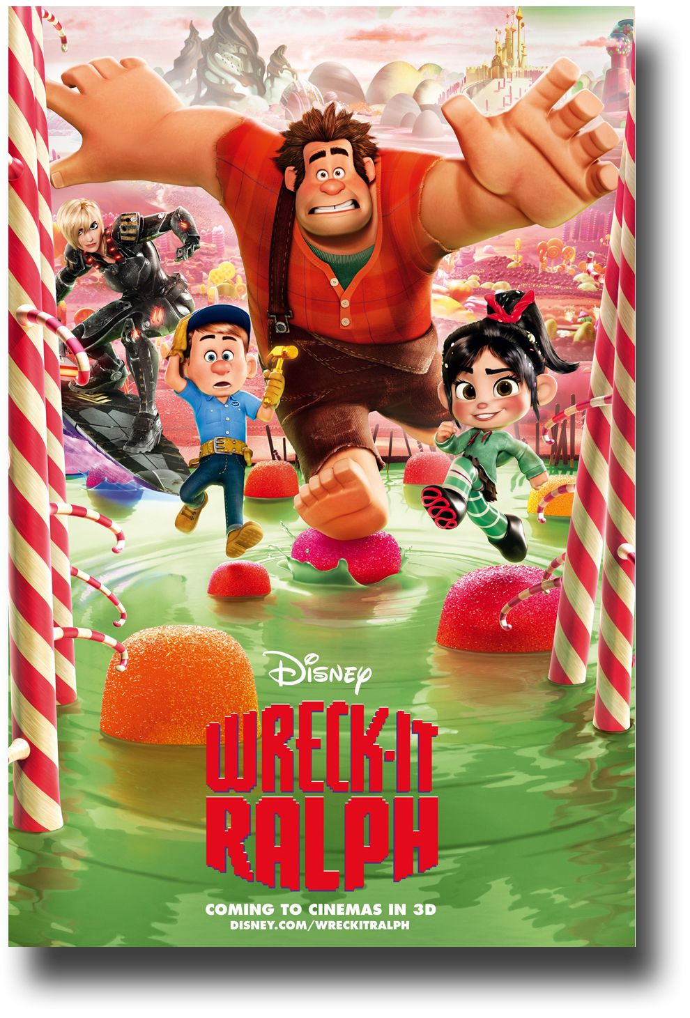 Wreck It Ralph Poster Green Lake Avalable At Http Concertposter Org Wreck It Ralph Poster Movie Promo F Wreck It Ralph Movie Wreck It Ralph Animation Movie