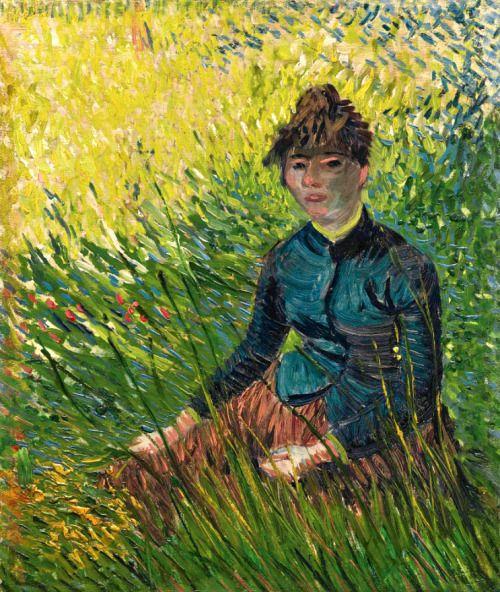 Vincent van GoghFEMME DANS UN CHAMP DE BLÉ