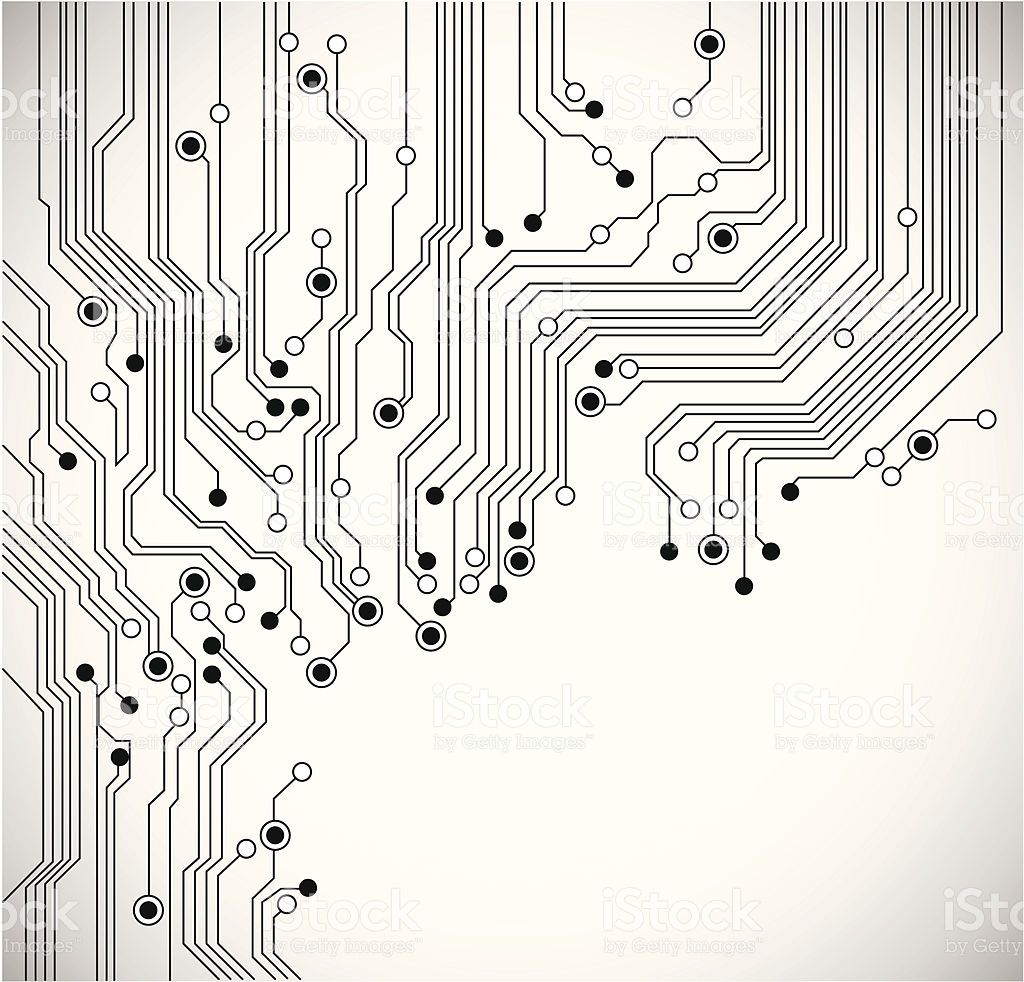 Abstact Background With Circuit Board And Binary Code Stock Images Abstract Decor Pinterest Royalty Free Vector Art