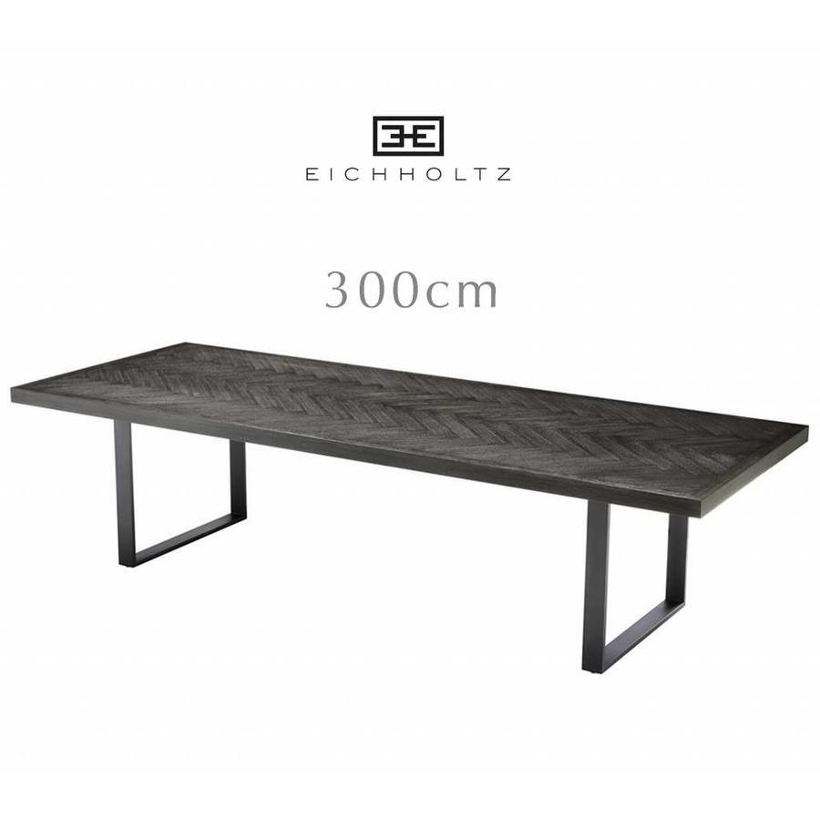 Grote Zwarte Sidetable.Eichholtz Grote Zwarte Tafel 300cm Dining Table Melchior