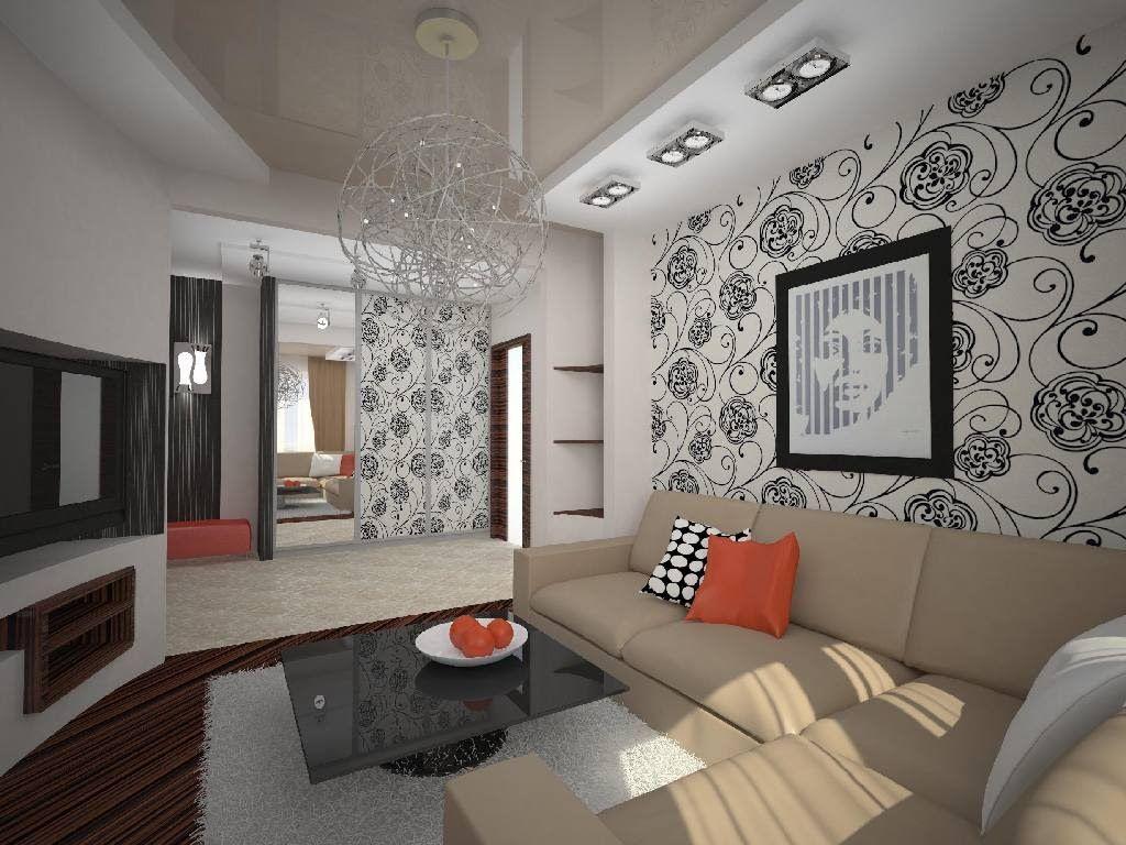 Living Room Interior Design Wallpaper Home Design