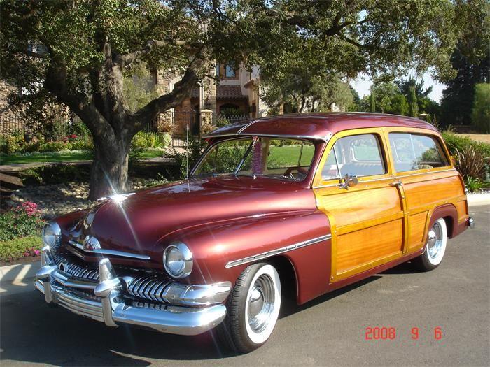 1951 Mercury Woody Wagon Photo Gallery Classiccars Com Hemmings Motor News Woody Wagon Classic Cars Trucks Woodies