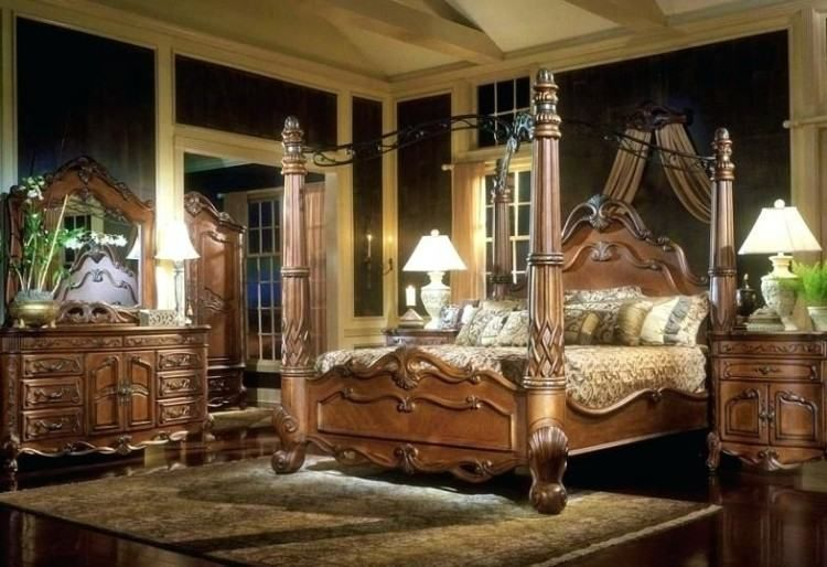 Ashley Furniture Canopy Bedroom Sets Canopy Bedroom Sets Canopy Bedroom Design Bedroom Sets Ashley furniture gold bedroom set