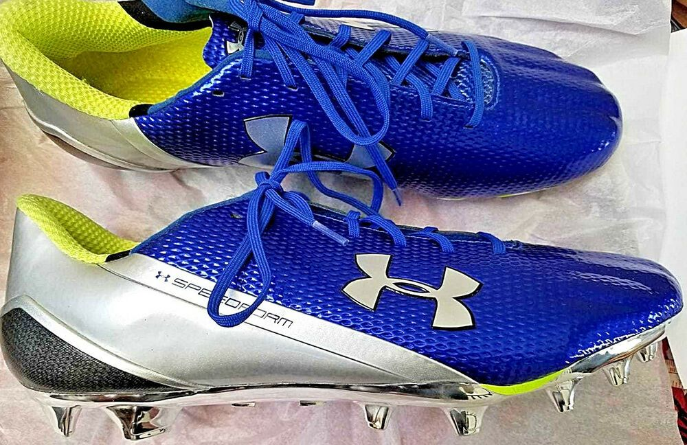 New limited under armour speedform mc low football cleats