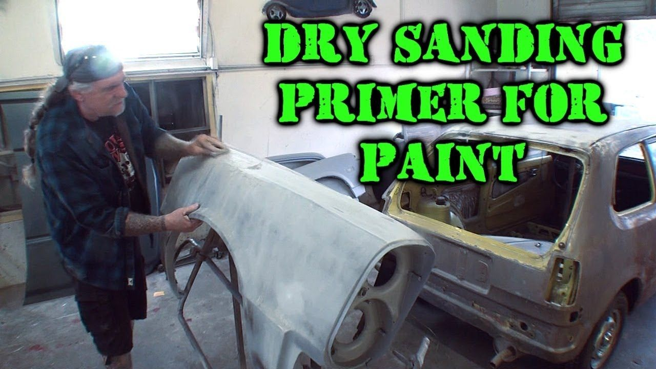 A Guide To Dry Sanding Primer For Paint - Car Restoration