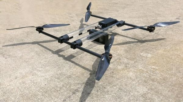 Hycopter drone uses hydrogen gas to fly for 4 hours