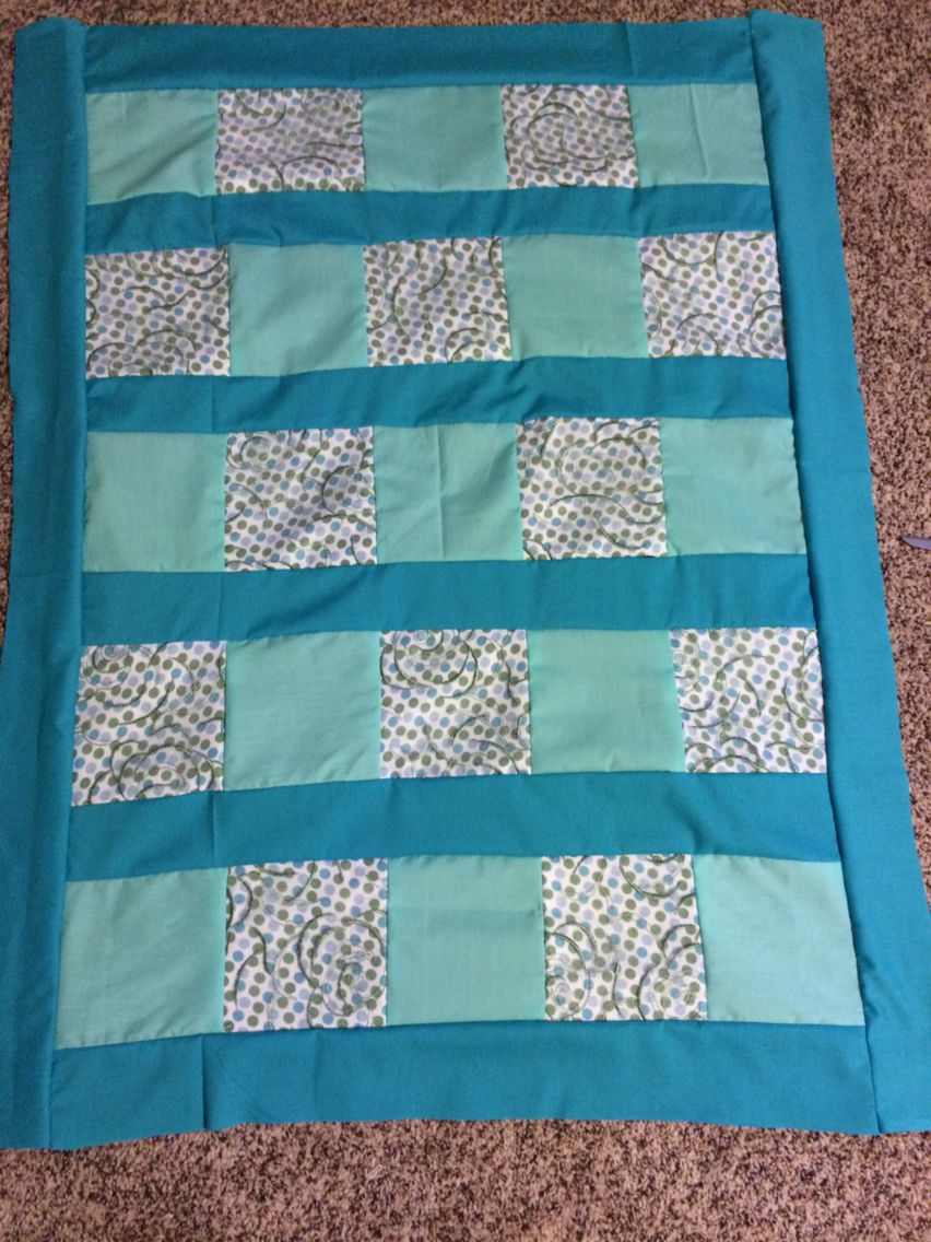 Baby Quilt from a Bridesmaid dress | Things I\'ve Made | Pinterest