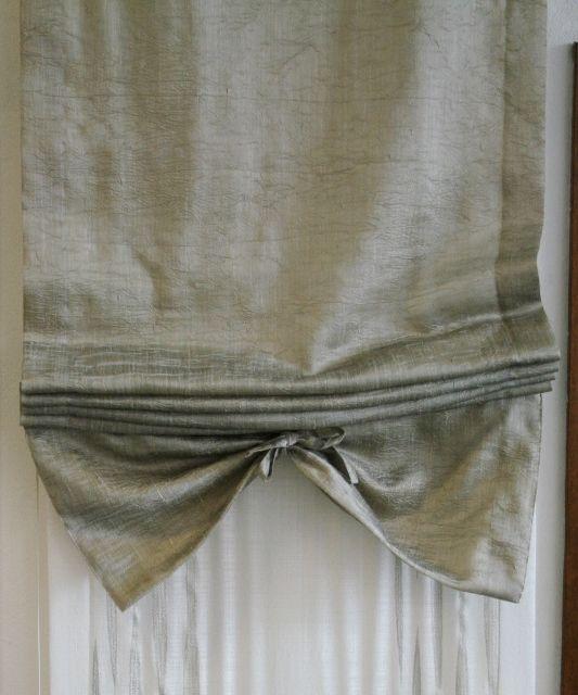 Tende E Tessuti.Elegante Tessuto In Misto Lino Stropicciato Ideale Per
