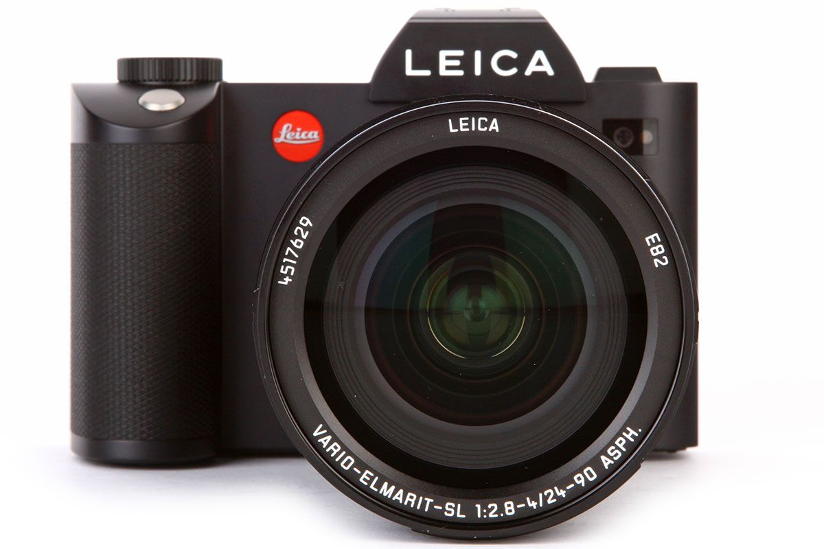 The Leica SL is an SLR-style full frame compact system camera ...