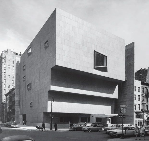 Whitney Museum of American Art, New York, New York, USA, 1966.