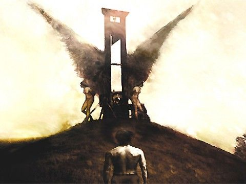Winged Guillotine by Christopher Skyy