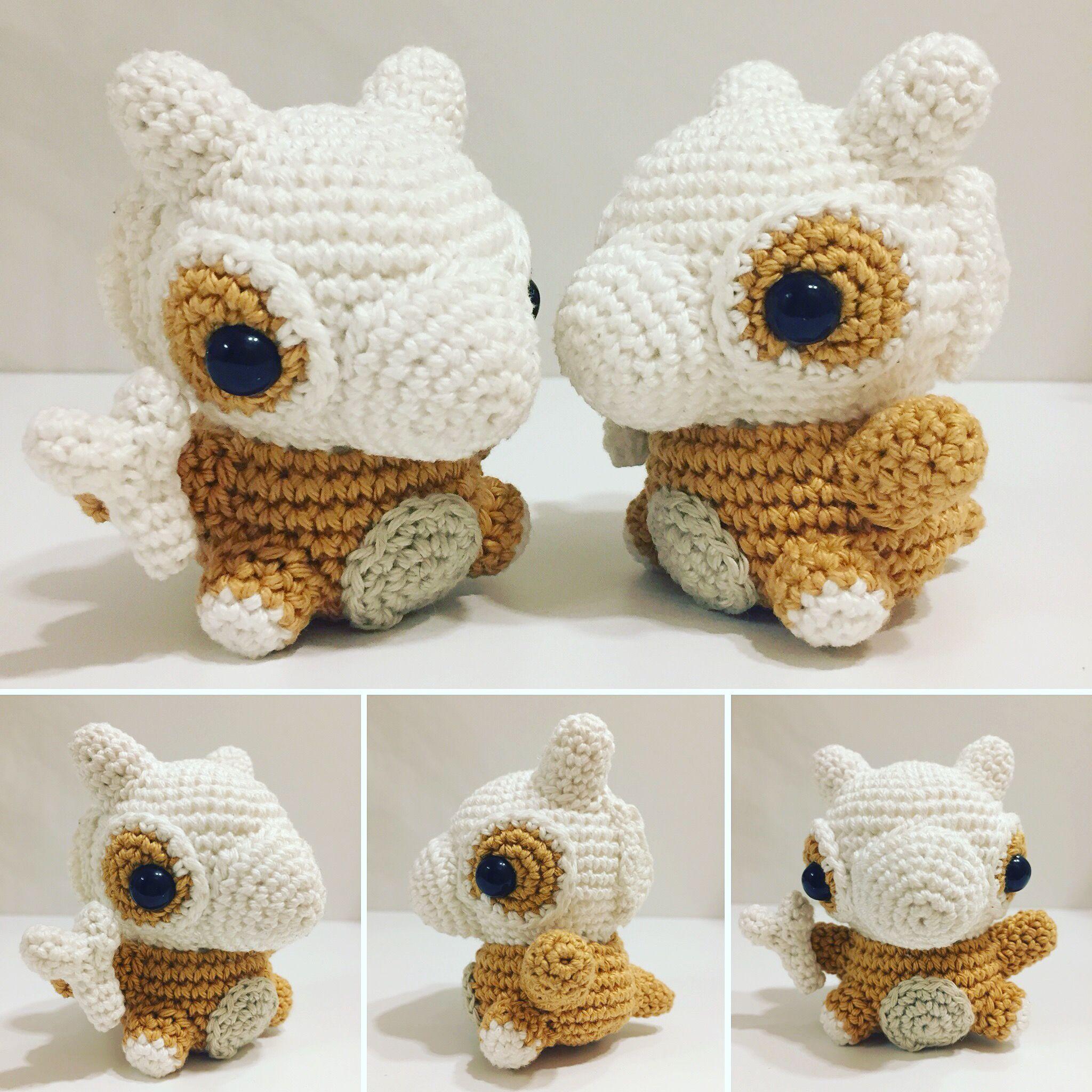 Tragosso / Cubone häkeln/ crochet by julygurumi. Follow me on ...