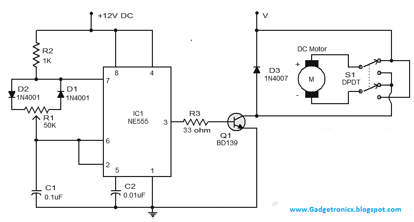 Pwm generator dc motor speed control circuit using ic ne for Pwm ac motor control