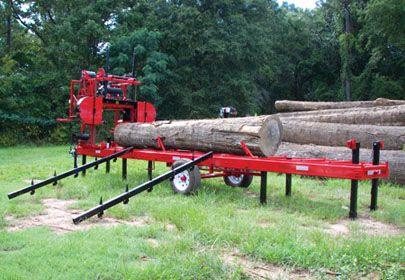 Cook's MP-32 Portable Sawmill | wood working | Portable saw