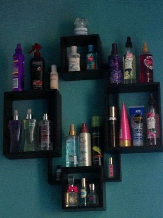 A Cheap Great Way To Display Allllll Those Perfumes Body