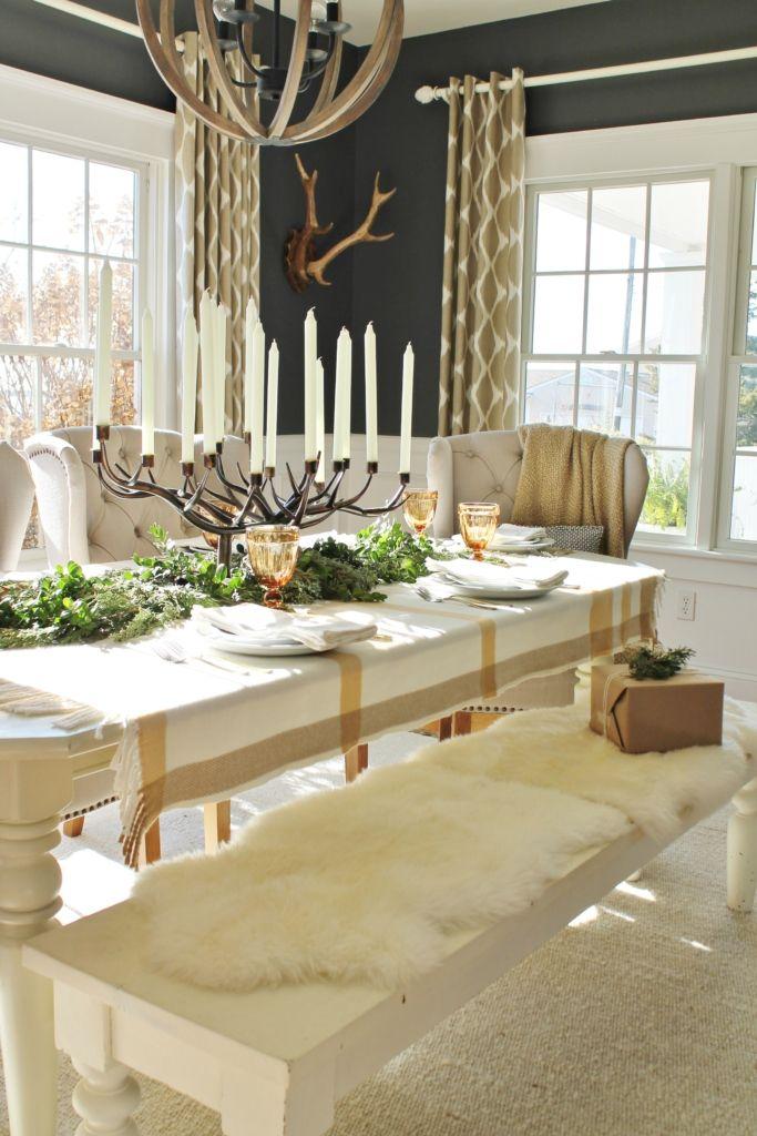 Holiday Dining Room Recipe Decorating Ideas Beautiful Dining