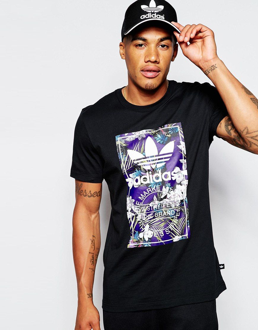 14fbaa1f Image result for adidas originals floral t-shirts mens | MENSWEAR ...