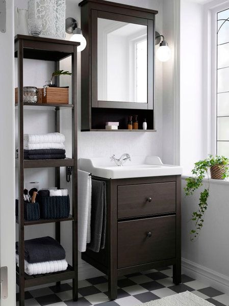 Ocho lavabos pequeños que te enamorarán Baño pequeño, Baño y Pequeños - decoracion baos pequeos