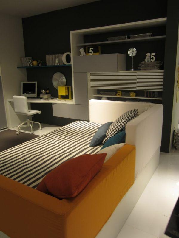 jugendzimmer gestalten 100 faszinierende ideen teenager zimmer design ideen sofa dekokissen. Black Bedroom Furniture Sets. Home Design Ideas