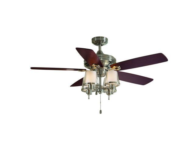 Allen Roth Ceiling Fans L1103 Allen Roth 52 Altena Brushed