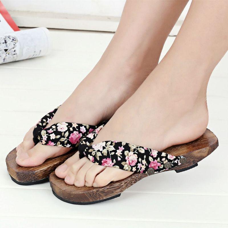 Style zoccoli Wooden clog
