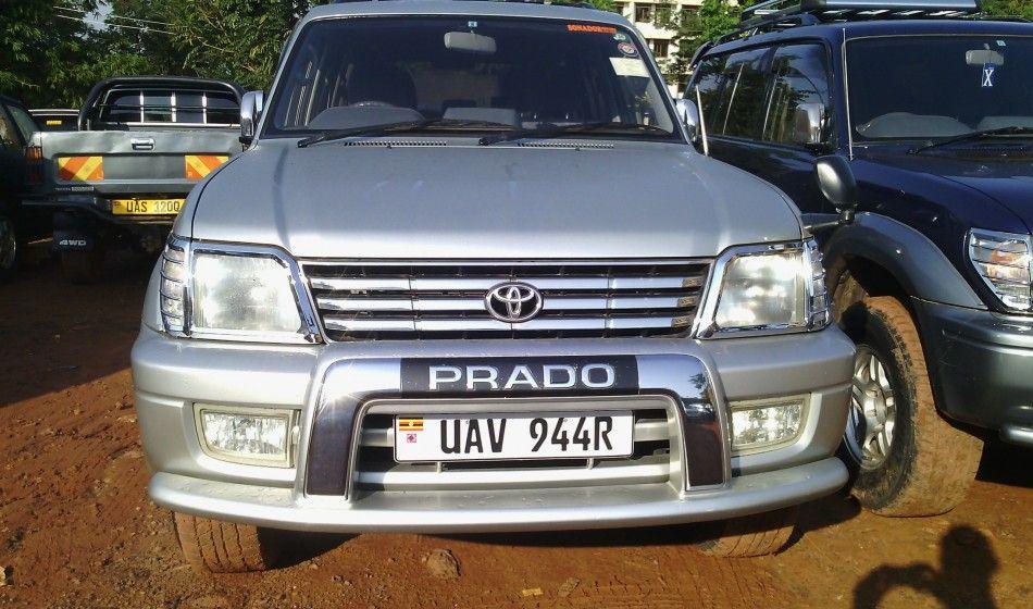 A Toyota PradoTX 2001 model on sale at 47m ugx Cars