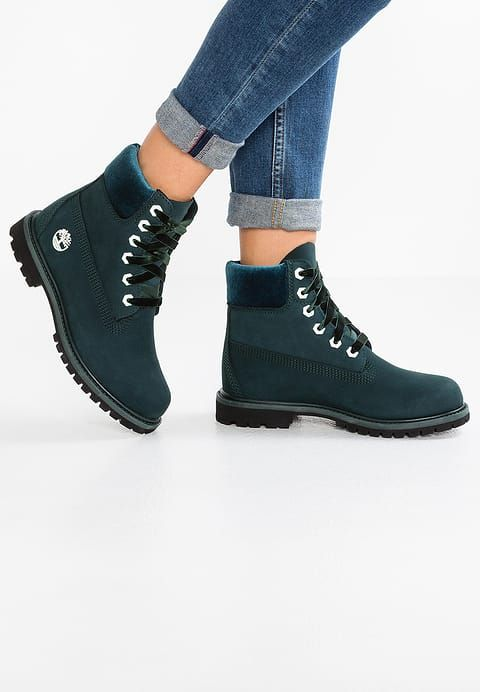 d45cfe6d3d94df Chaussures Timberland PREMIUM WP BOOT - Bottines à lacets - dark green  gables bleu pétrole: