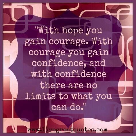 how to gain courage to fight