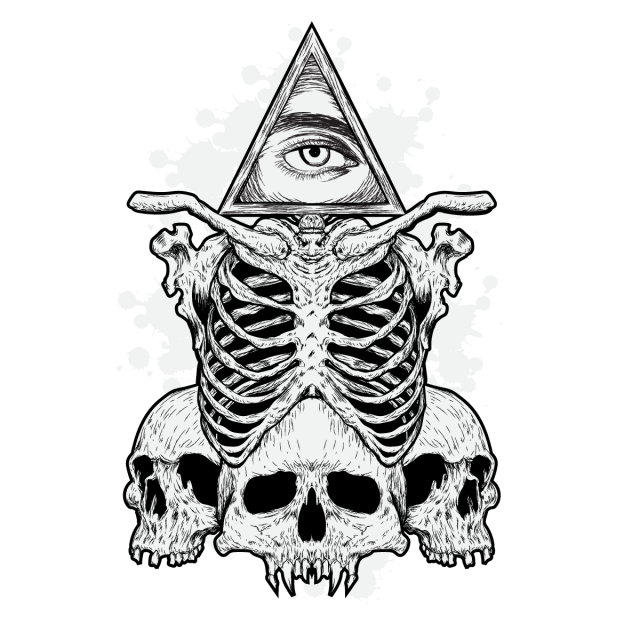 عظام الجمجمة و العين مثلا صور المتجهات مع المواد Png Eye Illustration Eye Print Skull