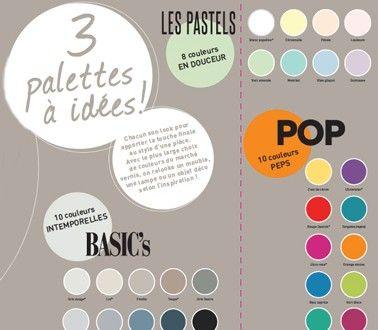 Nuancier Peinture Pour Meuble Vernis Relooking V33 28 Couleurs