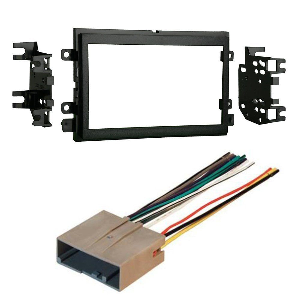 Ford Mercury 2006 2013 Car Cd Stereo Receiver Dash Install Toyota Single Din Radio Mount Kit With Wiring Mounting Wire Harness