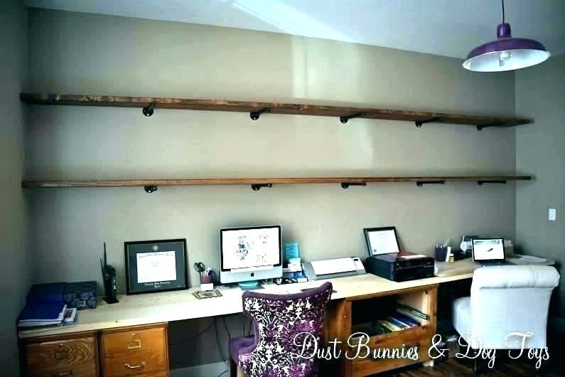 Lack Wall Shelf Floating Wall Shelf Desk With Shelves Above Long