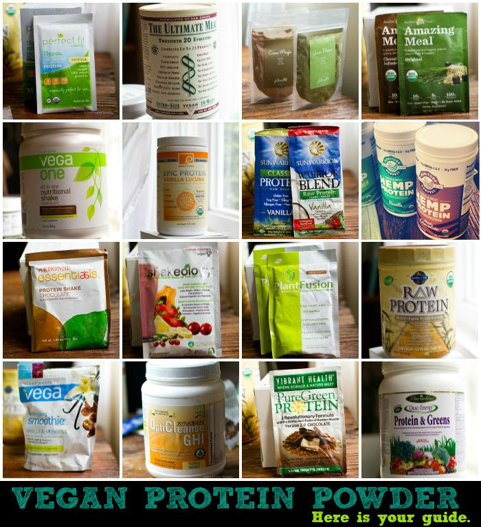 Vegan Protein Powders for Smoothies: My BIG Guide! #vegan