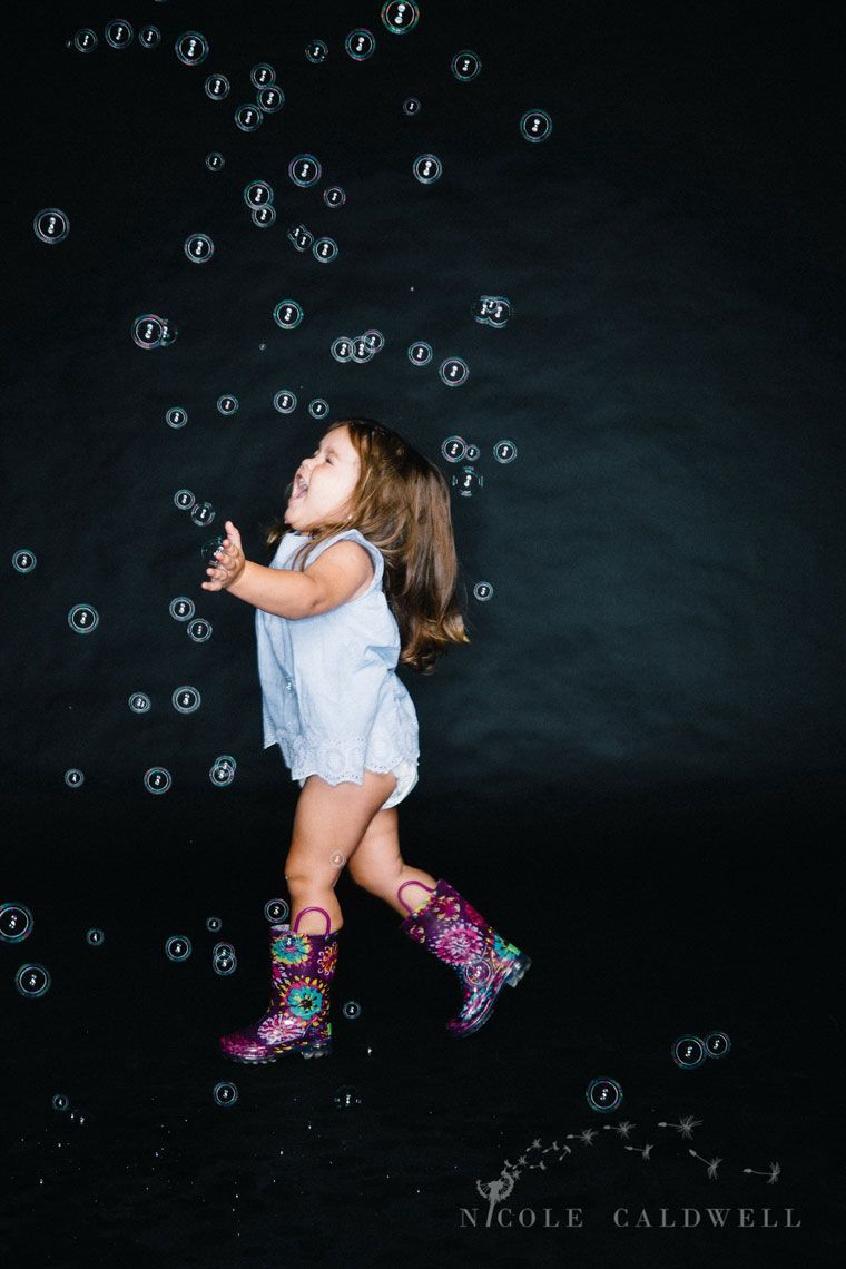 Kids Photography In Bubbles Children Photography Dance