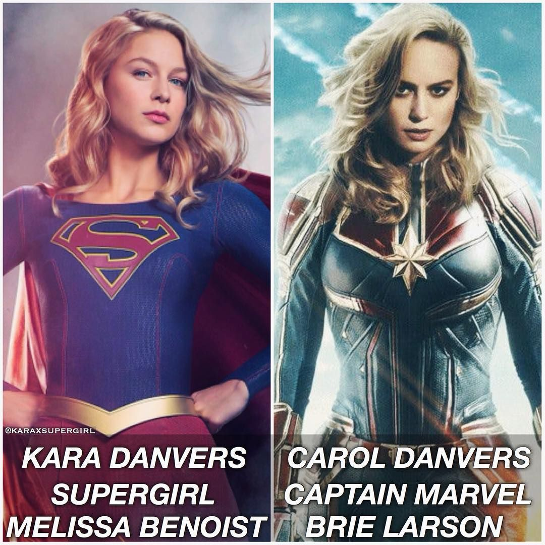 Kara Danvers or Carol Danvers   - -inspired by  comedianofcomics -  - brielarson a5ebe00666a6