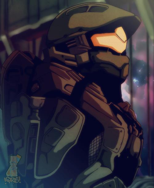 Halo 4 Anime Halo Halo Spartan Halo Master Chief