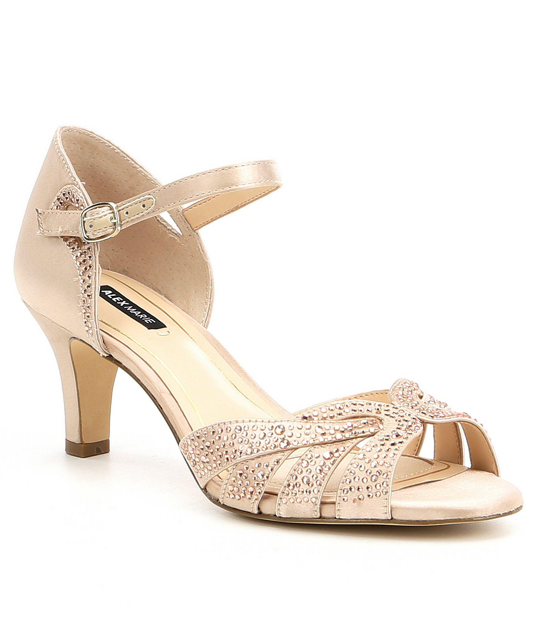 e175ee999f2b Alex Marie Layona Jeweled Satin Dress Sandals 8FpdeG - alikeplaces.com
