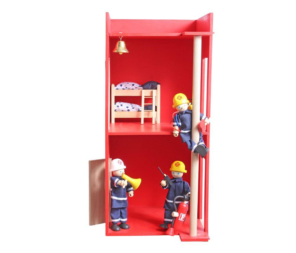 Feuerwehrhaus Spielzeug