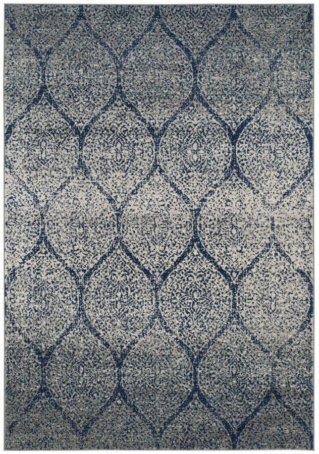 Safavieh Madison Navy And Silver 10 X 14 Area Rug Reviews Rugs Macy S Halilar