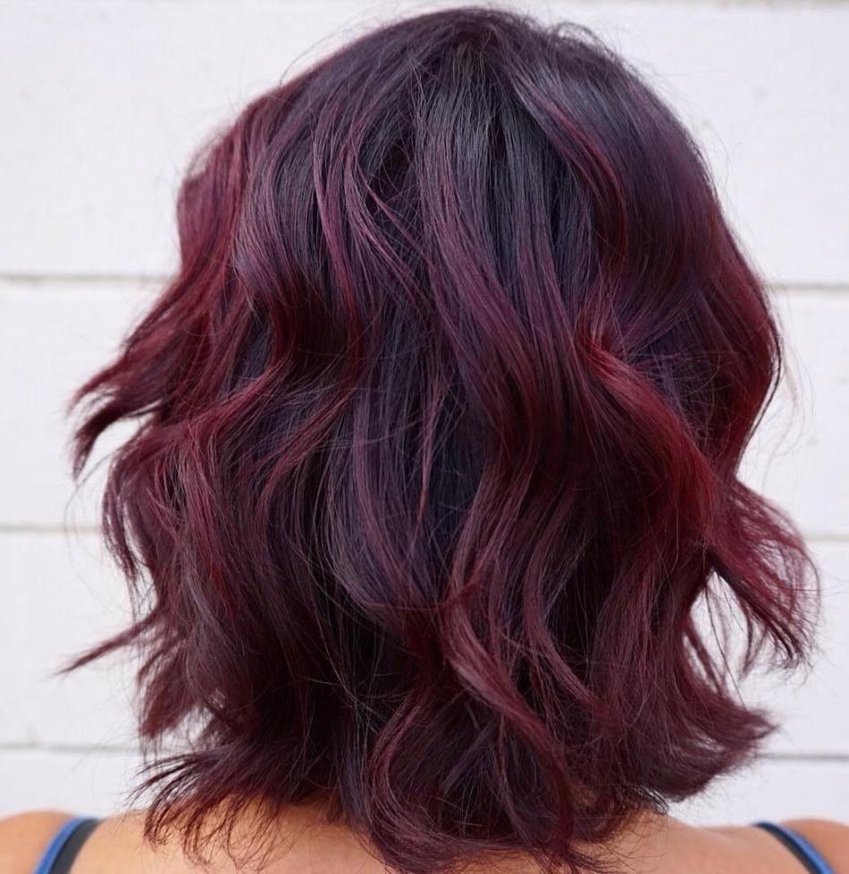 43+ Rote haarfarbe fuer dunkle haare ideen