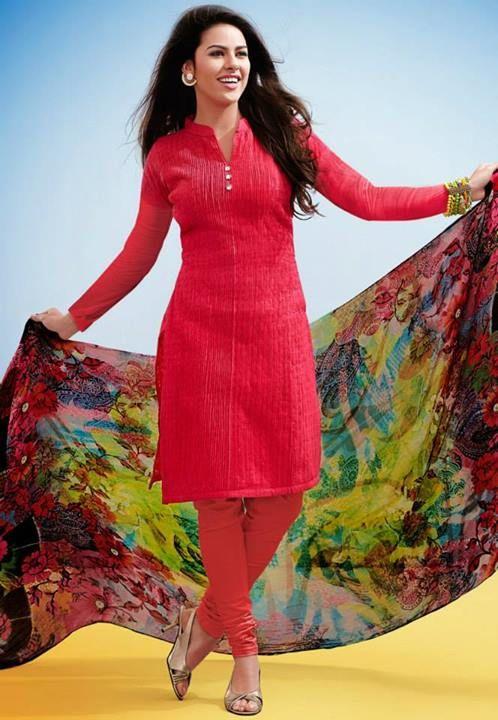 e920895224c8 Utsav-Fashion-Eid-Fancy-Dresses-Red-Madame-2014-2.jpg (498×720 ...