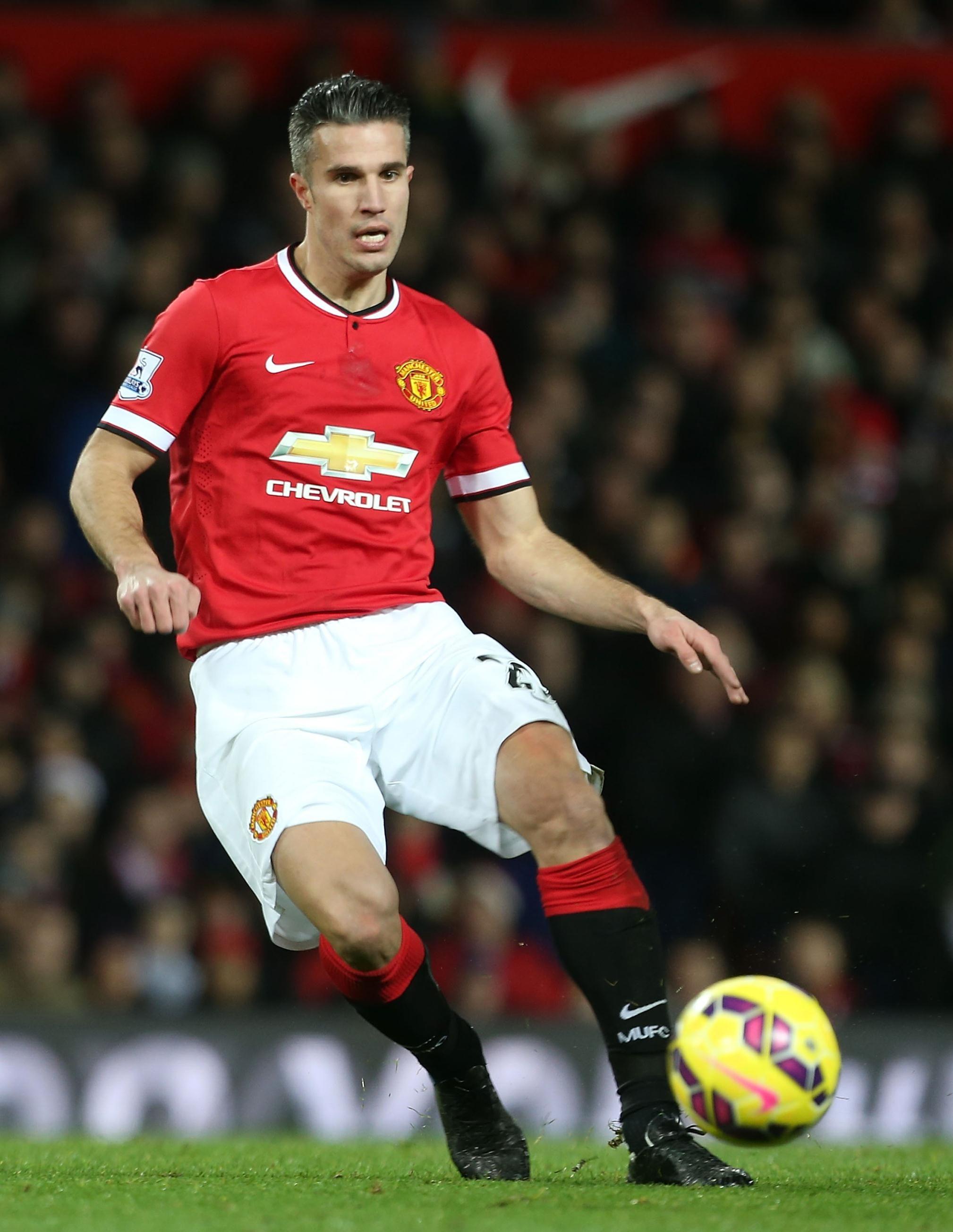 Manchester United striker Robin van Persie is closer to