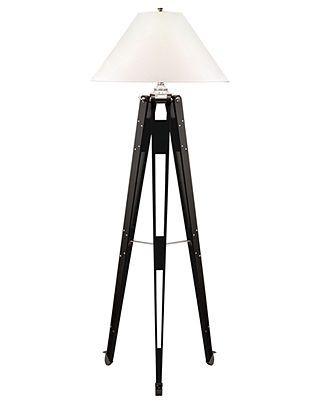Lauren Ralph Lauren Floor Lamp, Architect Ebony - Lighting ...
