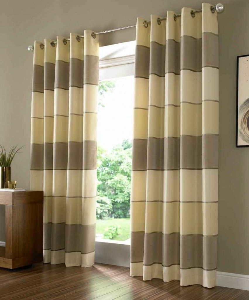 The decorative modern curtain panels drapery room ideas for Green modern curtains