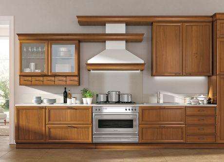 Cucina Composizione 7 - Le Gemme | La struttura dei mobili e dei ...
