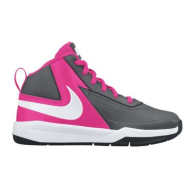 Nike® Team Hustle D7 Girls Basketball Shoes - Little Kids Big Kids found at   JCPenney f5de955db
