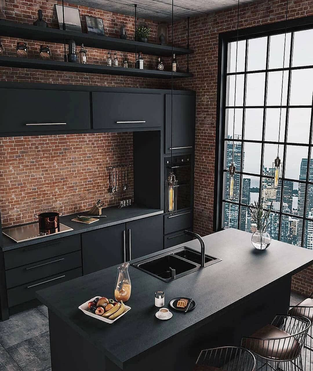 Dizajn V Stile Loft Design Loft Design Kitchen By Carolinekincheski Ocenite Etot Dizajn Ot Top Kitchen Trends Home Interior Design Home Decor Trends