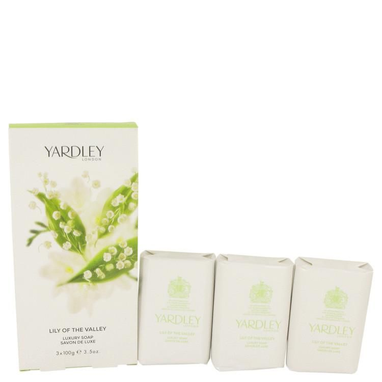 Lily Of The Valley Yardley 3 x 3.5 oz Soap By Yardley London